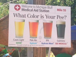 Color of Pee